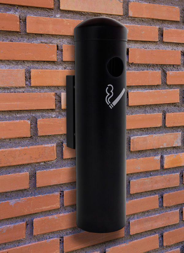 Wall Mounted Smoking Receptacle